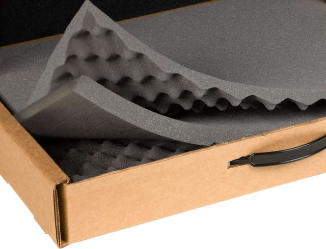Strongbox product feature 3 layers foam
