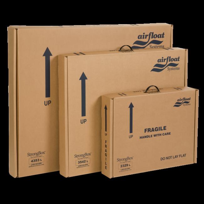 "100 x LARGE CARDBOARD BOXES CARTONS 22 x 14 x 14/"" S//W"