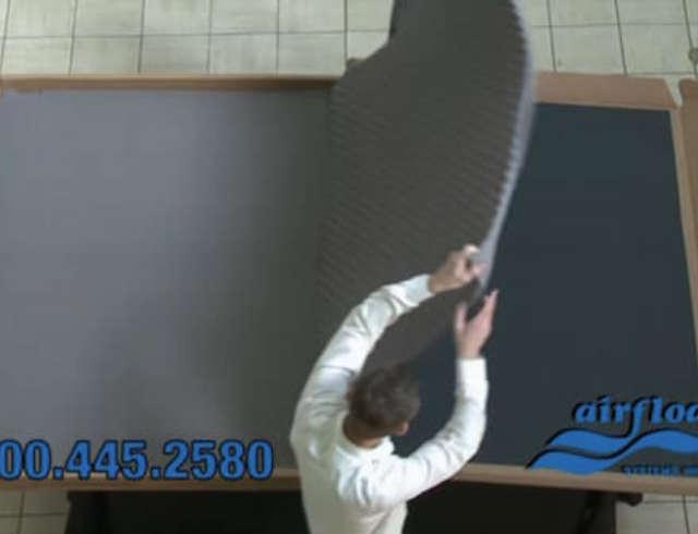 2 remove top foam
